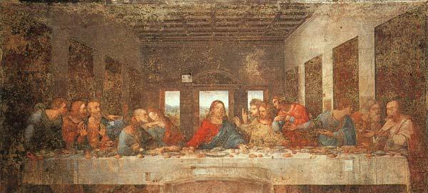The Last Supper, Leonardo da Vinci