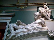 Tomb of Lorenzo de' Medici (casting in Pushkin museum) by shakko 05.jpg