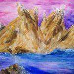 ים והרים משוננים