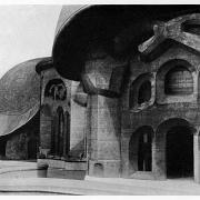 Rudolf Steiner's First Goetheanum Exterior0013