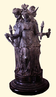 Image result for Hecate Capitoline Museum bronze statuette
